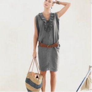Garnet Hill Riviera Linen Dress-M